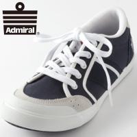 【送料無料】 キャンバス スウェード 靴 国内正規 スエード 紺 白 Admiral アドミラル ス...
