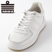 【送料無料】 Admiral アドミラル シューズ 靴 CARDIFF 本革レザー ホワイト 白 国...