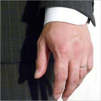 PT900 Men's マリッジリング アクセサリー 指輪 結婚指輪