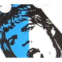 PRINCE PETER (プリンス ピーター) FAME GOOD FACE TEE (WHITE/BLUE) Tシャツ カットソー ホワイト ブルー ユニセックス