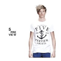 5PREVIEW (ファイブプレビュー) NEW HOPE T-SHIRT (WHITE) Tシャツ/カットソー/UNISEX ホワイト