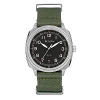 ブローバ Bulova ミリタリー 腕時計 96B229   ・海外輸入品です  ・ケース:ステンレ...