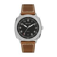ブローバ Bulova ミリタリーブラウン 腕時計 96B230   ・海外輸入品です  ・ケース:...