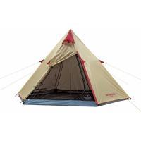 組み立て簡単なティピー型ワンポールテントです。 ●商品サイズ(cm) 幅約300×奥行約250×高さ...