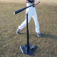 軟式・硬式・ソフトボール対応!1人でもバッティング練習ができる! ●サイズ(cm) 約41×41×5...