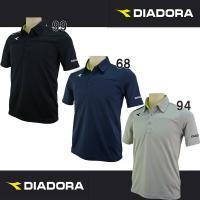 【種別】ポロシャツ 【メーカー名】ディアドラ(diadora) 【カラー】ブラック(99) ネイビー...