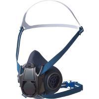 用途に応じてフィルターを交換することにより、1つの面体で防毒マスクにも防じんマスクにもなります。直結...