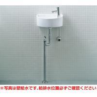 狭小手洗シリーズ 0.4坪の狭小スペースにもぴったりのコンパクト&シンプルなシリーズ。  壁給水・床...