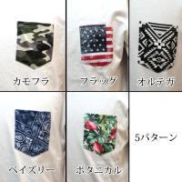 AZ by junhashimoto エーゼイ バイ ジュンハシモト 総柄 ポケット付Tシャツ tee 半袖 トップス