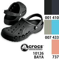 即納 「CROCS/クロックス」から、サイドにCROCSのロゴを大胆に切り抜いた、レディース/メンズ...