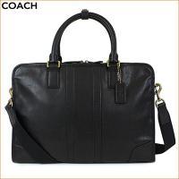 コーチのビジネスバッグです。カラーはブラックで、高級感のあるレザーがとても素敵です!長年愛用していた...