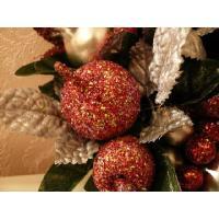 ベリー&アップルminiリース/B(クリスマス雑貨・飾り)