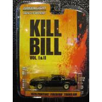 GREENLIGHT HOLLYWOOD SERIES10 1:64 1979 Pontiac Firebird TA Kill Bill Vol.2 (2004)