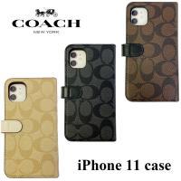 コーチ iPhone11 アイフォン11 iPhoneケース 4333 手帳型