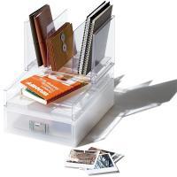 自分仕様にできるシンプルな整理BOXシリーズで、その他のライフモデュールとあらゆる組み合わせが可能で...
