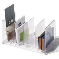 デスク周りの書類整理・管理に便利なファイルスタンド(ワイド)です。 自由な位置に配置できる仕切り板が...