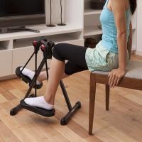 椅子に座って前におくだけ!どこでも簡単に運動ができるエクササイズマシーン! 座ったままでできる3パタ...