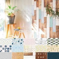 目にふれる度に心ときめく、美しいデザインを日常に取り入れませんか?  貼ってはがせる、壁用の装飾粘着...