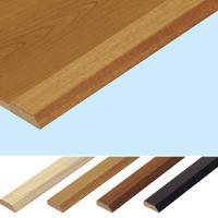 接着剤不要で床面を汚さず施工できる「エコクラテツフロア」専用の見切り材です。床材のエッジをすっきりに...
