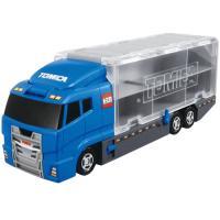 ■お買い求めやすいトラックケース登場 ■トミカは13台、トミカ(ロングタイプ)は仕切りをはずすと4台...