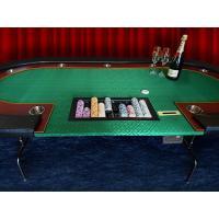 当店オリジナル【国内在庫】 ポーカーテーブル カジノテーブル 折り畳み [送料無料 大型品]  カジノ ブラックジャック バカラ poker