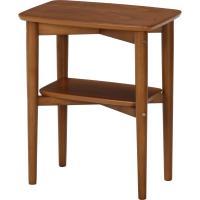 高級感のある、ウォルナット突板。 スペースの少ない場所のサイドテーブルに。  〔全体〕幅45×奥行3...