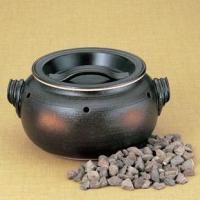 手軽に石焼き芋ができるやきいも機。日本製(万古焼) KI711-401