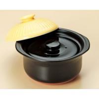 萬古焼 炊飯土鍋 銀峯菊花山吹 ご飯鍋2合炊(中蓋付)|utuwayaissin