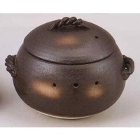 手軽に石焼き芋ができます。日本製(万古焼)