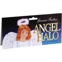 ハロウィン コスプレ 輸入品 Loftus Halloween Angel Costume Feather Halo Headband, White, One-Size