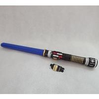 ハロウィン コスプレ 輸入品 IMBLINKY 33 Inch Expandable Royal Color Style Laser Sword Saber Toy with Sound and Light Costume Accessory(BLUE)