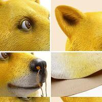 ハロウィン コスプレ 輸入品 XIAOMOGU Dog Halloween Costume Party Latex Animal Head Mask