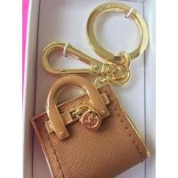 マイケルコース バッグ Michael Kors Hamilton Bag Key Fob Hand Bag Charm Acorn Brown 輸入品