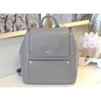 ケイトスペード バッグ 輸入品 NWT Kate Spade Cody Backpack style shoulder bag, hare grey leather RARE