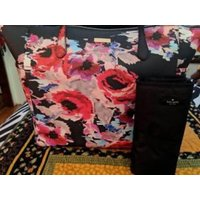 ケイトスペード バッグ 輸入品 Kate Spade Adaira Baby Bag Laurel Way Printed - Brand New w/Tags (MSRP $329.00)