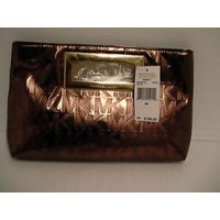 マイケルコース バッグ  輸入品 Michael kors clutch Berkley cocoa metallic bag new