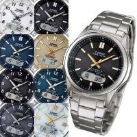 電波 ソーラー 電波ソーラー 腕時計 メンズ カシオ 腕時計。世界6地域で使える電波ソーラーが、税抜...