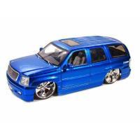 【商品名】ダイキャストカー 2002 キャデラック エスカレード DUB メタリックブルー 1/18...