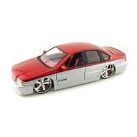 【商品名】ダイキャストカー 1996 シボレー インパラ SS DUB Metallic Red/S...
