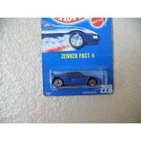 【商品名】Hot Wheels ホットウィール Zender Fact 4 All Blue Car...