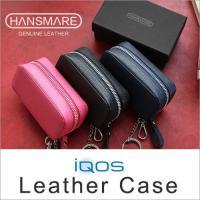 商品名:HANSMARE iQOS Leather Case  原産国:韓国  カラー:BLACK,...