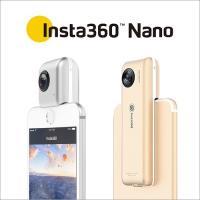 商品名:Insta360 Nano  原産国:中国  特長: シャッター1つで全方位を撮影できる36...
