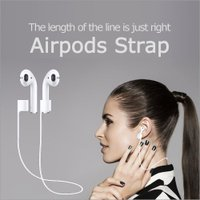 商品名:Airpods Strap  商品説明:Airpods用のネックストラップ!お使いのAirP...