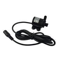 静音 水流240L/h 小型ポンプ 12V 水槽 池水 循環 _