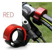 BICYCLE BELL ハンドルベル レッド アラーム 大音量 バイク ハンドルバー ホーン MI-TJ45-5-RD[メール便発送、送料無料、代引不可]