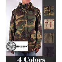 【HOUSTON】ヒューストンよりナイロンコマンドジャケットのご紹介です。極寒冷地での活度に使われ...
