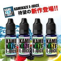 【新作】 KAMIKAZE E-JUICE カミカゼ 15ml MIX プルームテックプラス カートリッジ 電子タバコ リキッド メンソール VAPE スーパーハードメンソール 補充 べイプ