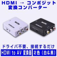 ■入力端子:HDMI端子*1 ■出力端子:AV(3*RCA)コンポジット ※映像/アナログ音声L/R...