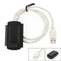 """■商品種類:USB → SATA/IDE USB変換ケーブル ■コネクタ: IDE 2.5""""44pi..."""