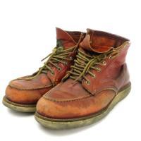 レッドウィング REDWING 90s 875 アイリッシュ セッター ブーツ 半円犬タグ レザー ...